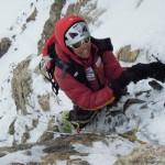 K2 2011_Gerlinde im Steilaufschwung kurz vor der Felsschulter©R.Dujmovits